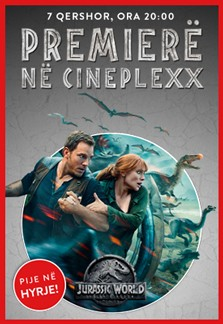 Premierë - Jurassic World: Fallen Kingdom