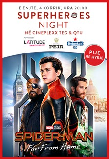 Superheroes Night - Spider-Man: Far From Home