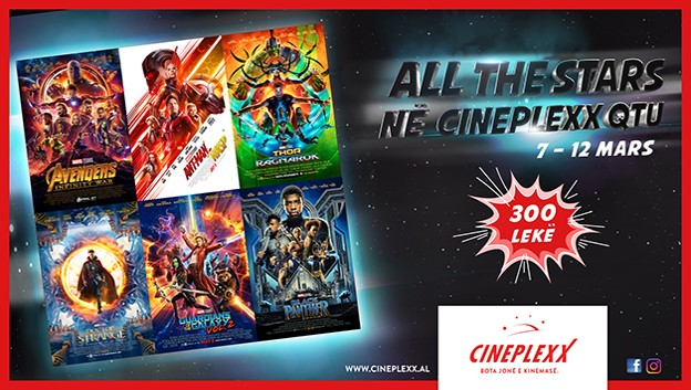 All the Stars në Cineplexx QTU